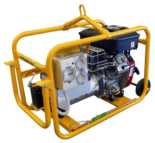 Crommelins Generator Petrol Hirepack Electric Start 8000w