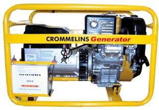 Crommelins Welder Generator Petrol Electric Start 200amp
