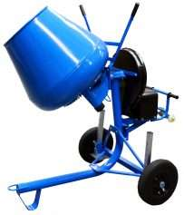 Cement Mixer Side-Tip Electric 3.5cu
