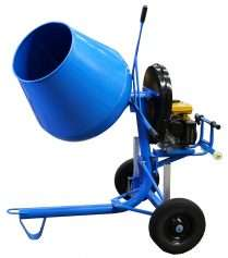 Cement Mixer Side-Tip Petrol 3.5cu