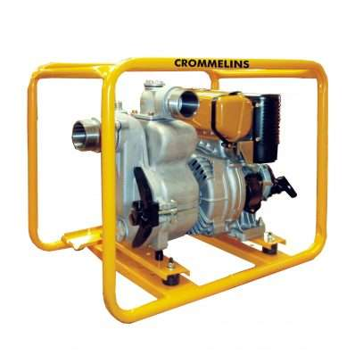 Crommelins Trash Pump Diesel 3 inch