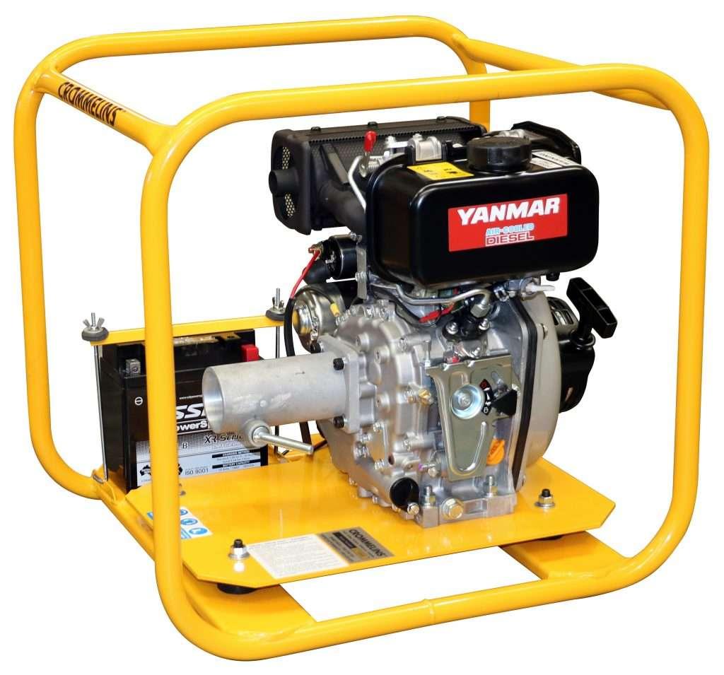 Crommelins Drive Unit Diesel Yanmar Electric Start 4.7hp ...
