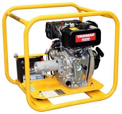 Crommelins Drive Unit Diesel Yanmar Electric Start 4.7hp