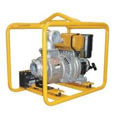 Crommelins Clear Water Pump Diesel 4""