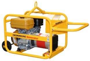 Crommelins Generator Petrol Hirepack 5000w