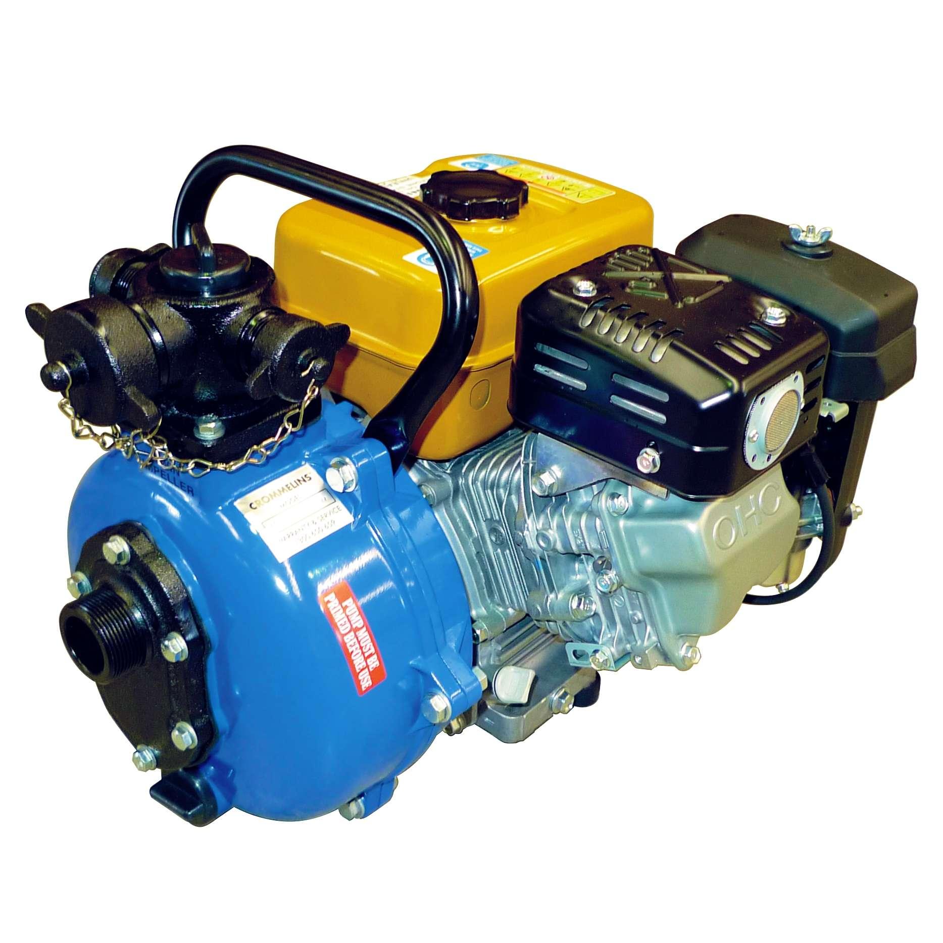 Crommelins Fire Fighting Pump Petrol Twin Impeller 7 0hp | Crommelins  Machinery