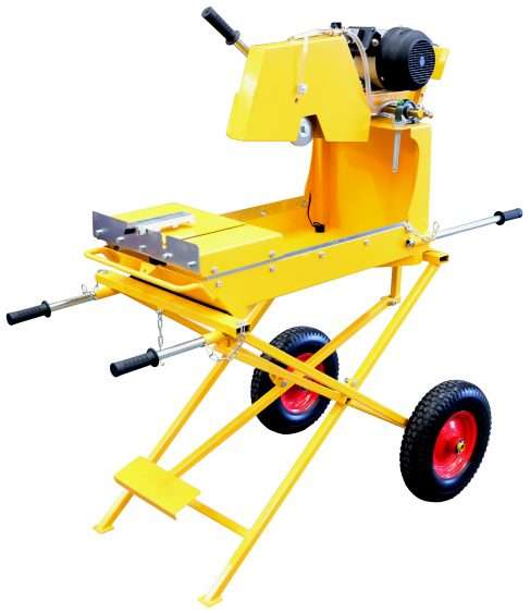 Crommelins Electric Brick Saw 14 Inch