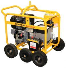 Crommelins Generator Diesel Hirepack Hatz 6000w