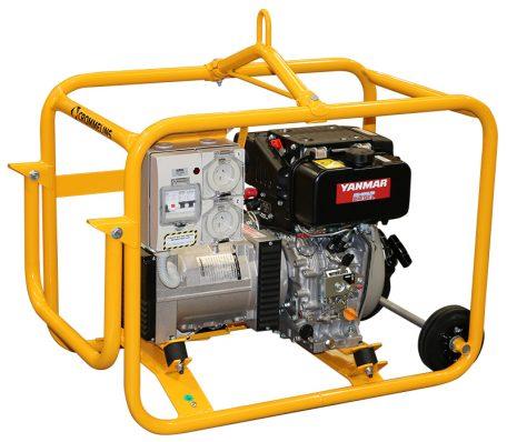 Crommelins Generator Diesel Yanmar Hirepack Electric Start