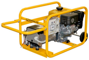 Crommelins Generator Petrol Hirepack Electric Start 6800w