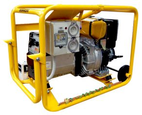 Crommelins Welder Generator Diesel Electric Start Hirepack180amp