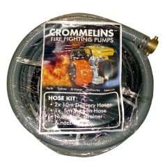Crommelins Fire Fighting Pump Hose Kit