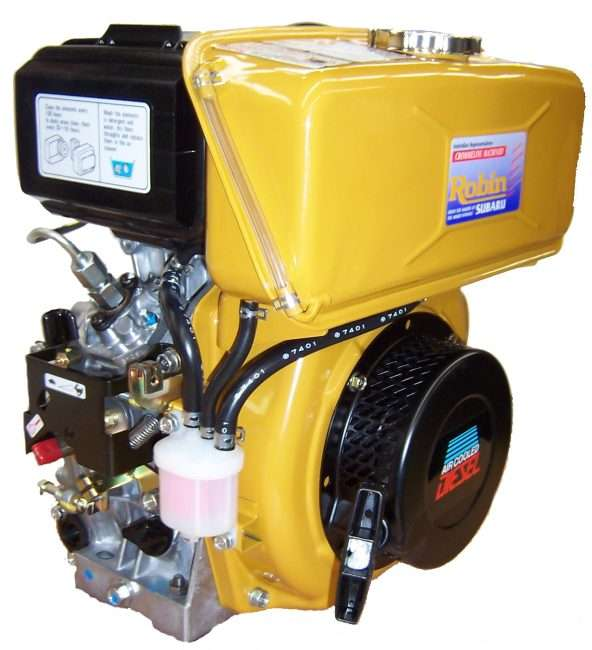 5.5hp Robin sel DY Engine | Crommelins Machinery on