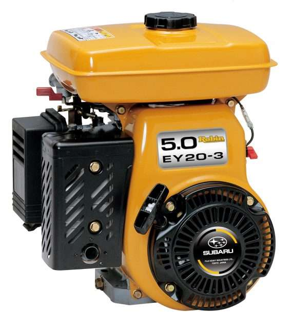 5 0hp Robin Petrol EY Engine   Crommelins Machinery