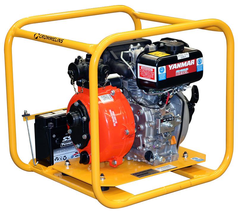 Crommelins Fire Fighting Pump Diesel Single Impeller 4 7hp | Crommelins  Machinery