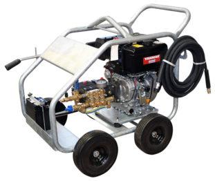 Crommelins Pressure Cleaner 3000psi Diesel with frame
