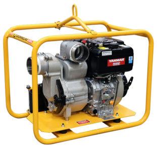 crommelins trash pump diesel 4 inch electric start