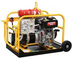 Crommelins Generator Diesel Minespec Yanmar 2.4kw