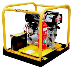 Crommelins Drive Unit Diesel Yanmar Electric Start Minespec 4.7hp