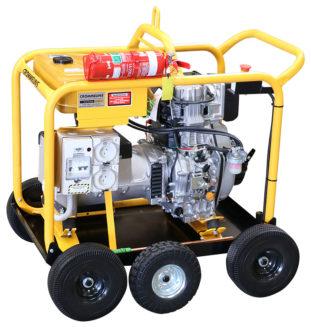 Crommelins Generator Diesel Minespec Kohler 6.0kw