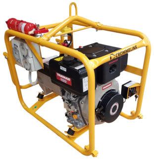 Crommelins Generator Diesel Minespec Yanmar 3.5kw
