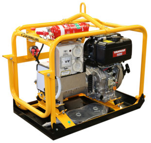 Crommelins Generator Diesel Minespec Yanmar 5500w