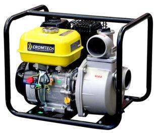 Cromtech Clear Water Pump Petrol 3 Inch