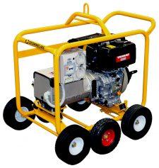 Crommelins Generator Diesel Hirepack Kohler 6.0kw