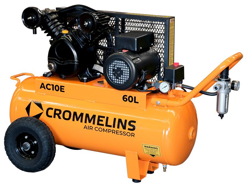 Electric Air Compressor >> Crommelins Air Compressor Electric 60l Crommelins Machinery