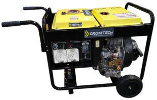 Cromtech Diesel AVR Generator 6000w