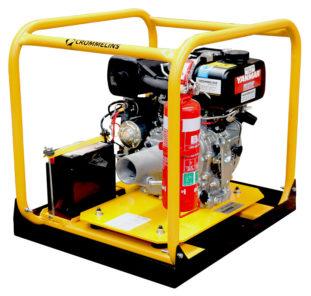 10.0hp Crommelins Diesel Drive Unit Yanmar Minespec-medium