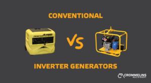 Conventional vs Inverter Generator